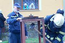 Čtvrtý ročník silového víceboje hasičů v Cizkrajově.