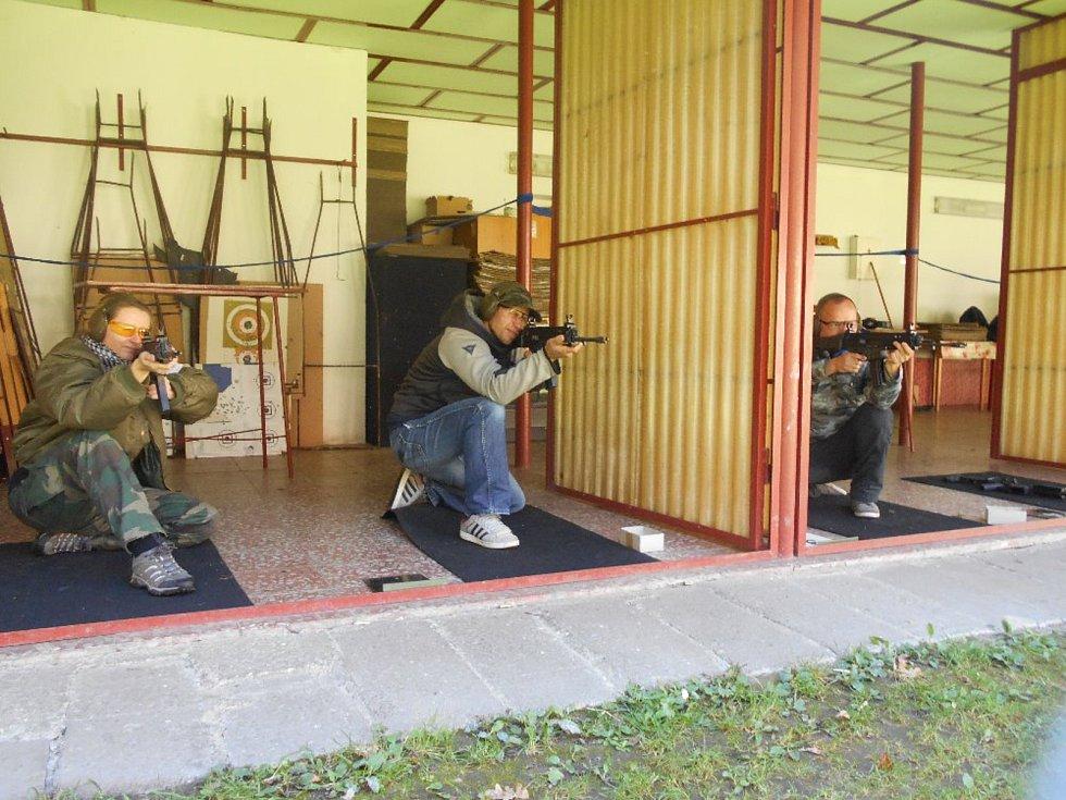 Na střelnici v Dolním Skrýchově se konala tradiční střelecká soutěž.