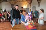 V pátek 7. června se v jindřichohradeckém Muzeu fotografie a moderních obrazových médií konalo vítání občánků.