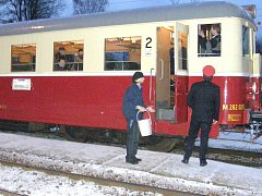 Nedávno vyjel z jindřichohradeckého nádraží mimořádný motorový vlak o normálním rozchodu Jindřichohradeckých místních drah  do Moravských Budějovic a Jemnice, kde by mohla společnost provozovat dnes zrušenou osobní dopravu.