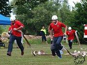 V Kunžaku pokračovala Jindřichohradecká hasičská liga.