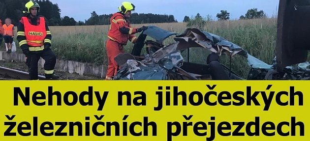 Pouták nehody na přejezdech.