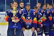 Jindřichohradecký zimní stadion hostil osmý ročník hokejového Memoriálu Jana Marka pro kategorii dorostenců.