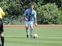 O poslední gól hradeckých fotbalistů v této sezoně se postaral Radim Koutný z pokutového kopu.
