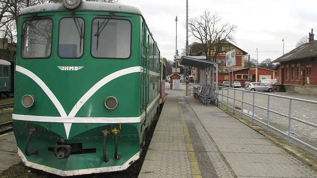 Jindřichohradecké místní dráhy. Ilustrační foto.