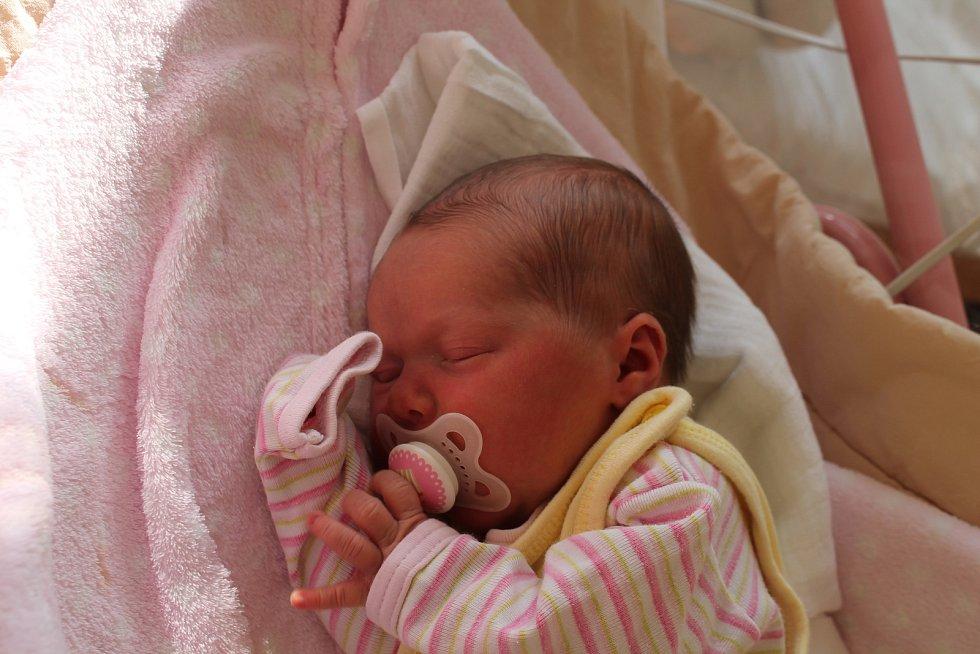 Lucie Štěrbová, Budíškovice.Narodila se 18. února Romaně a Michalu Štěrbovým, vážila 3 230 gramů a měřila 48 centimetrů.