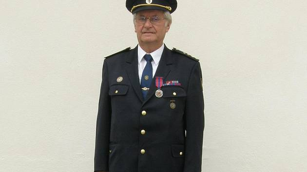 Zasloužilý hasič Miroslav Šandera