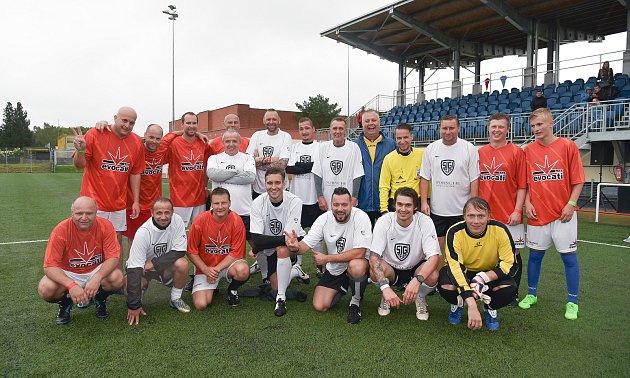 VTřeboni se konal fotbalový turnaj na podporu Hospicové péče sv. Kleofáše.