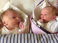 Martin a Lucie Frýblovi se narodili 5. února Veronice a Janovi Frýblovým z Jindřichova Hradce. Martin  měřil 50 centimetrů a vážil 3270 gramů, Lucie měřila 49 centimetrů a vážila 3190 gramů.