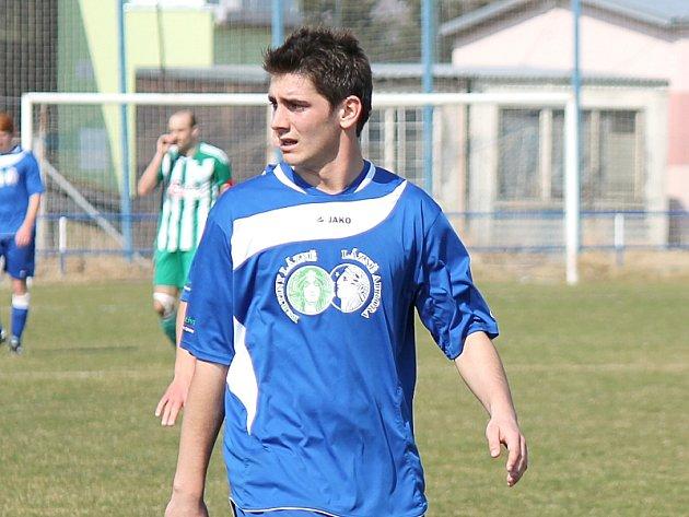 Třeboňský útočník Michal Rossmann.
