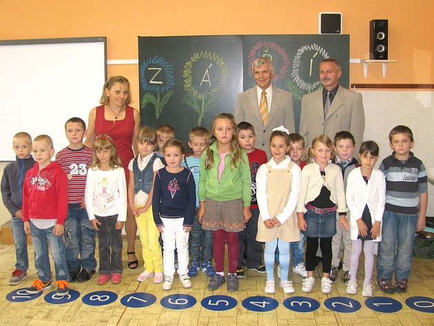 1. A ze Základní školy Nová Včelnice.