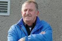 Jubilant Josef Češka.