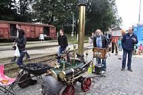 Den železnice v Jindřichově Hradci.