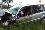 Tragická nehoda se stala v neděli odpoledne u obce Červený Hrádek na Dačicku.