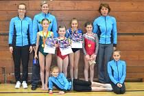 Povedený vstup do jarní části sezony absolvovaly sportovní gymnastky jindřichohradeckého Slovanu.