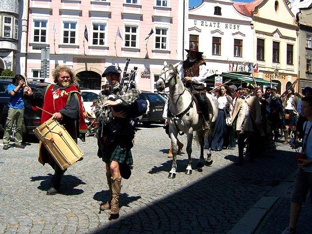 Sobota v Jindřichově Hradci se nesla ve znamení Dne města.