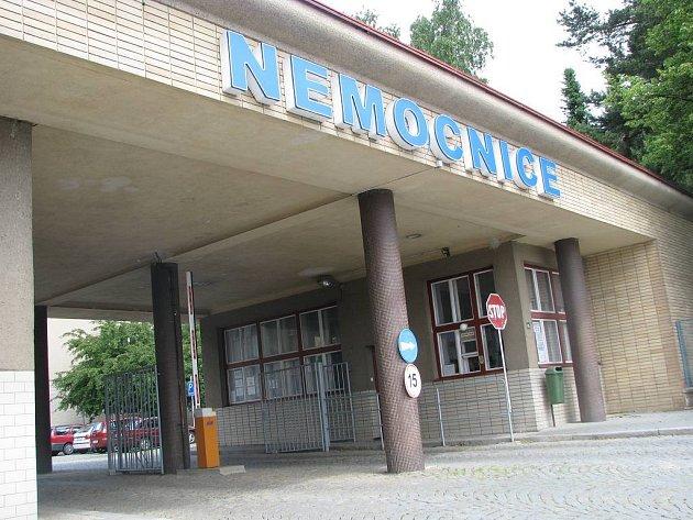 Nemocnice v Dačicích. Ilustrační foto.