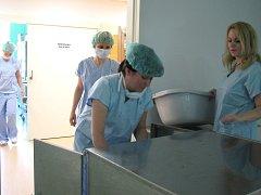 Nemocnice v Dačicích.
