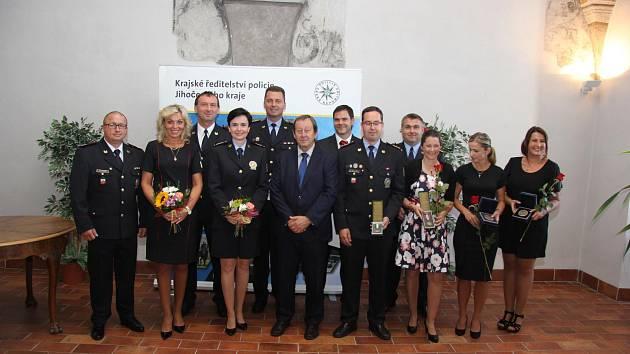 Policisté převzali ocenění v refektáři Muzea fotografie a moderních obrazových médií.