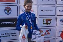 Jindřichohradecký Hynek Hrdlička je vítězem Českého poháru v aquatlonu v kategorii mladších žáků.