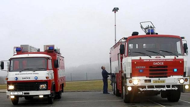 Sbor dobrovolných hasičů Dačice. Ilustrační foto.
