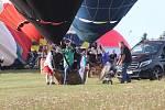 Mistrovství republiky v balonovém létání v Jindřichově Hradci