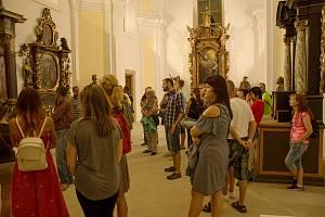 Prohlídka kostela sv. Jana Křtitele
