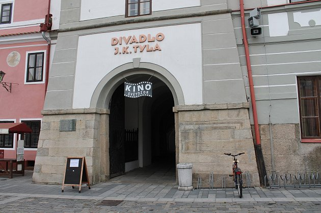 Divadlo J. K. Tyla v Třeboni.