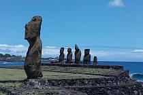 Chtěli byste se podívat na Velikonoční ostrov? Nahlédněte alespoň očima Mileny Andrle.