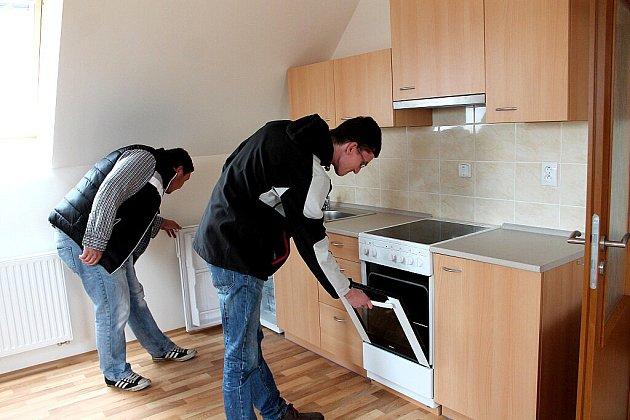 V Novosedlech nad Nežárkou vybudovali osm startovacích bytů v bývalé úpravně vody.