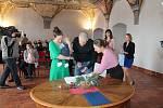 V pátek 1. února se v jindřichohradeckém Muzeu fotografie a moderních obrazových médií konalo vítání občánků.
