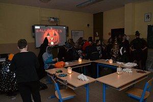 Halloween na 5. základní škole na sídlišti Vajgar