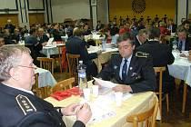 Okresní shromáždění delegátů sborů dobrovolných hasičů v Jindřichově Hradci.