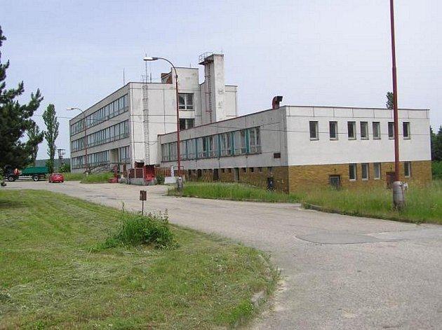 Budovy bývalé Pohraniční stráže v Nové Bystřici.
