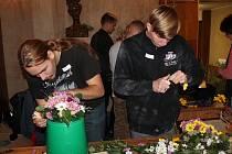 Šestnáctý ročník Květinového odpoledne přilákal spoustu zvědavých návštěvníků.