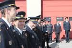 Jindřichohradečtí profesionální hasiči se rozloučili se svým ředitelem Janem Všetečkou, kterého od soboty nahradí Lukáš Janko.