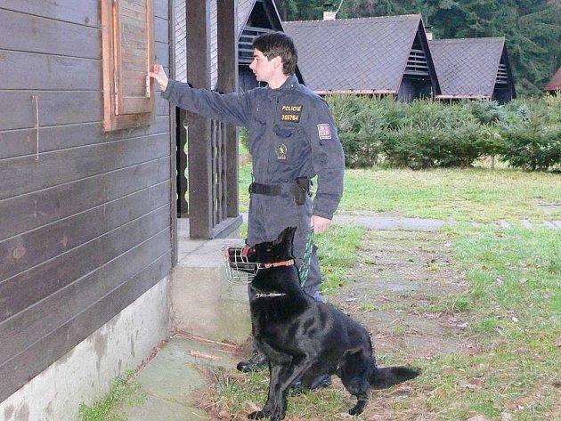 Policisté procházejí zejména mimo sezonu chatové oblasti na Jindřichohradecku.