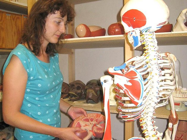 Na  studenty čeká  i učitelka odborných předmětů na Střední zdravotnické škole v Jindřichově Hradci Marie Dubová.