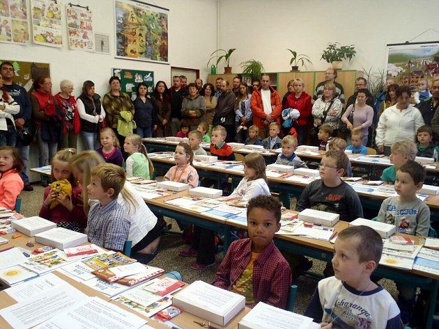 Zahájení školního roku v Kunžaku.