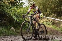Tereza Švihálková obsadila na MČR v cyklokrosu v kategorii žen do 23 let druhé místo.