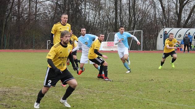 Jindřichohradečtí fotbalisté v 17. divizním kole hráli s Přešticemi 1:1 a podlehli až po penaltovém rozstřelu.