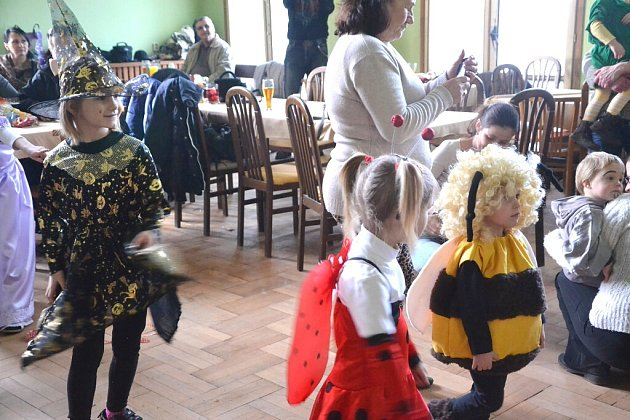 Dětský karneval v Děbolíně.