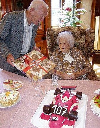 Marta Pokorná z Dačic v červenci oslaví 108. narozeniny.