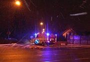 Požár půdního bytu v Denisově ulici v J. Hradci.