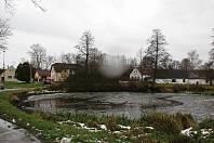 Bukovský rybník U Konzumu.