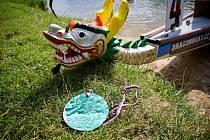 Jindřichohradecký rybník Vajgar bude v sobotu 21. srpna dějištěm 4. ročníku závodů dračích lodí O pohár předsedy spolku Vajgarská saň.