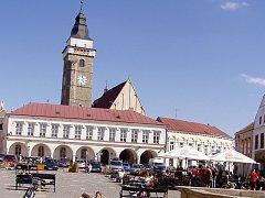 Ilustrační foto. Slavonické náměstí.
