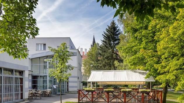 Bertiny lázně v Třeboni založil v 19. století místní učitel Václav Hucek.