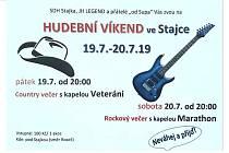 Hudební víkend v Hatíně - Stajce.