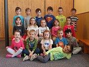 Žáci 1. třídy ze ZŠ Dolní Radechová
